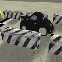 Cartoon Retro Car Parking 2019