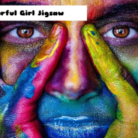 Colorful Girl Jigsaw