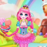 Princess Sweet Candy Cosplay