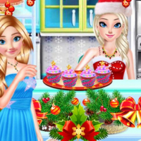 Sister Princess Christmas Cupcake Maker