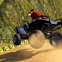 ATV Quad Bike Impossible Stunt