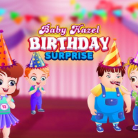Baby Hazel Birthday Surprise
