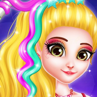 Hair Saloon Color by Number - Girls Fashion Games