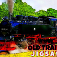 Old Trains Jigsaw