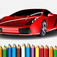 Racing Cars Coloring