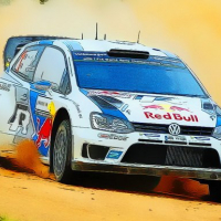 Rally Car Driving Jigsaw